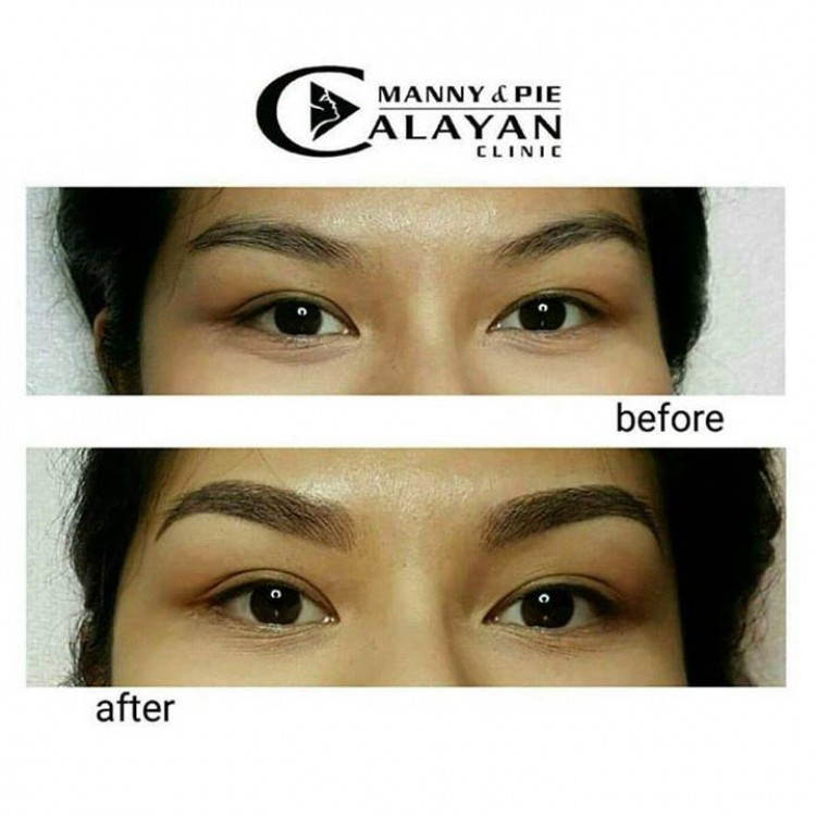 Manny Pie Calayan S 6d Eyebrow Embroidery Loopme Philippines