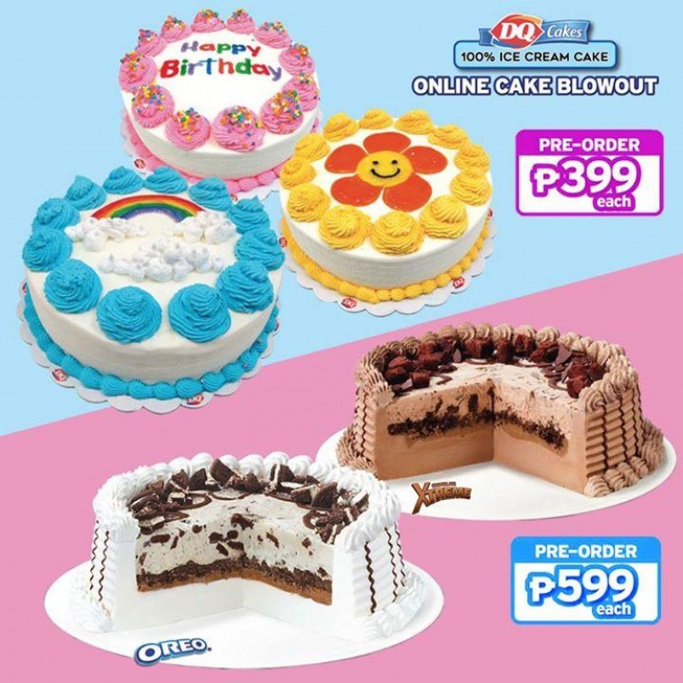 Fantastic Online Cake Blowout By Dairy Queen Loopme Philippines Personalised Birthday Cards Bromeletsinfo