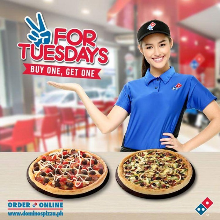 Two For Tuesdays Promo By Domino S Pizza Loopme Philippines