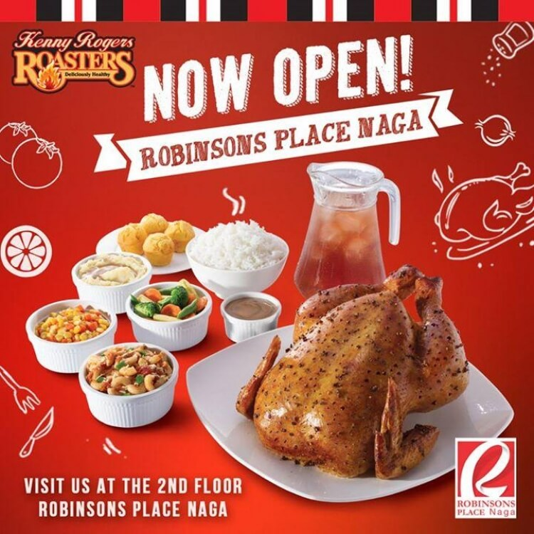 Kenny Rogers Now Open At Robinsons Place Naga Loopme Philippines