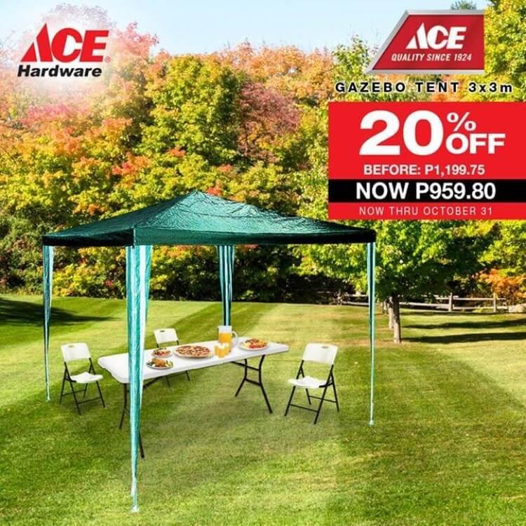 Ace Gazebo Tent Sale Loopme Philippines