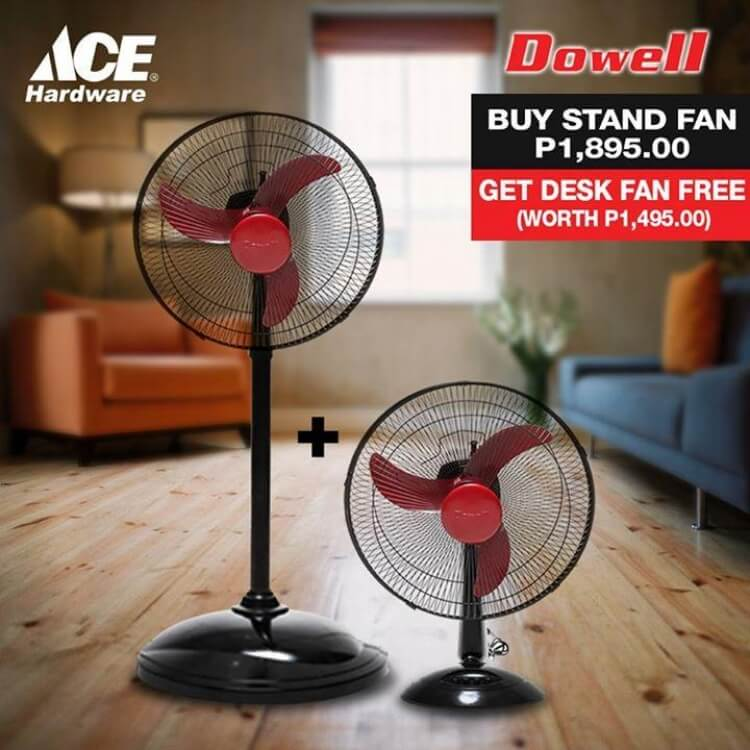 Dowell Fan Sale At Ace Hardware Loopme Philippines
