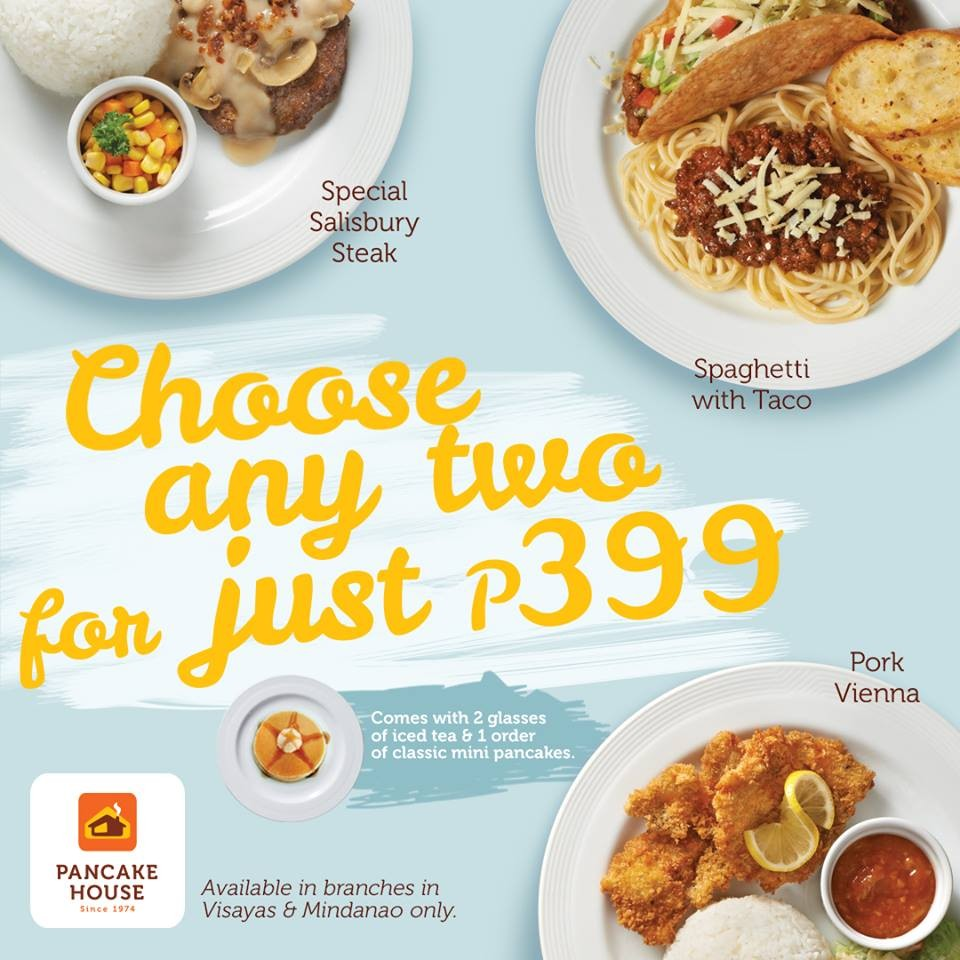 Pancake house two for php 399 promo loopme philippines ccuart Gallery
