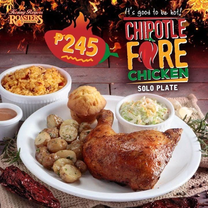 Chipotle Fire Chicken at Kenny Rogers | LoopMe Philippines