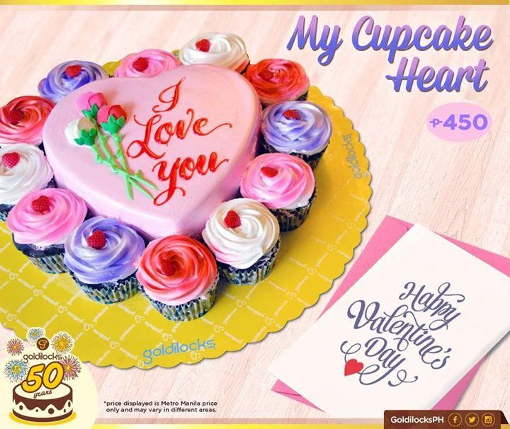 Cake With Cupcakes Goldilocks : Goldilocks  Limited Edition My Cupcake Heart LoopMe ...