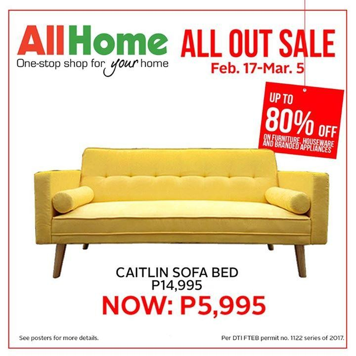 Caitlin Sofa Sale At All Home Loopme Philippines