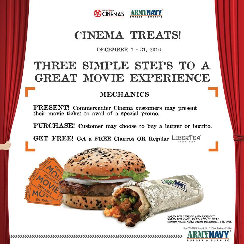 Army navys cinema treats promo loopme philippines forumfinder Images