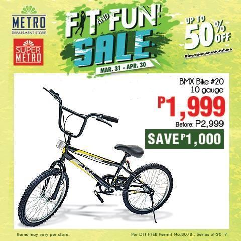 BMX Bike Sale at Metro Stores   LoopMe Philippines