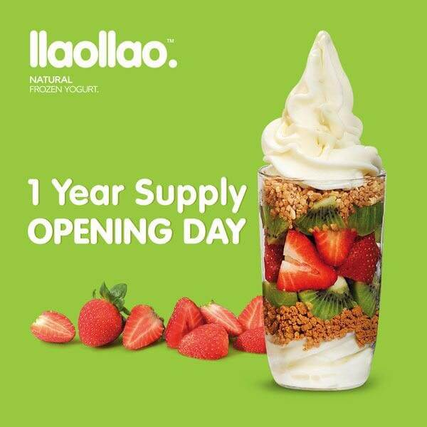Llaollao trinoma 1 year supply of frozen yoghurt opening promo llaollao trinoma 1 year supply of frozen yoghurt opening promo loopme philippines stopboris Gallery