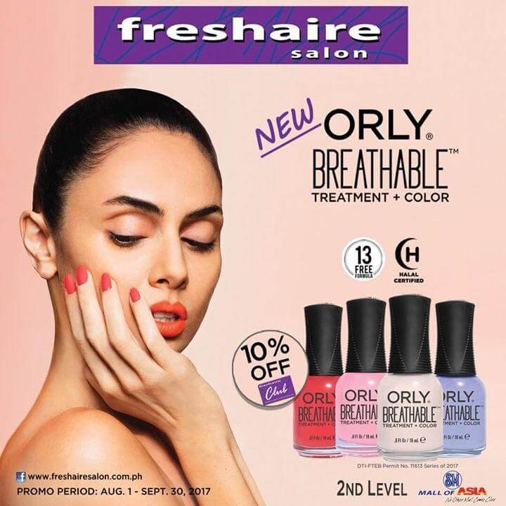 Freshaire Salon Promo At Sm Mall Of Asia Loopme Philippines