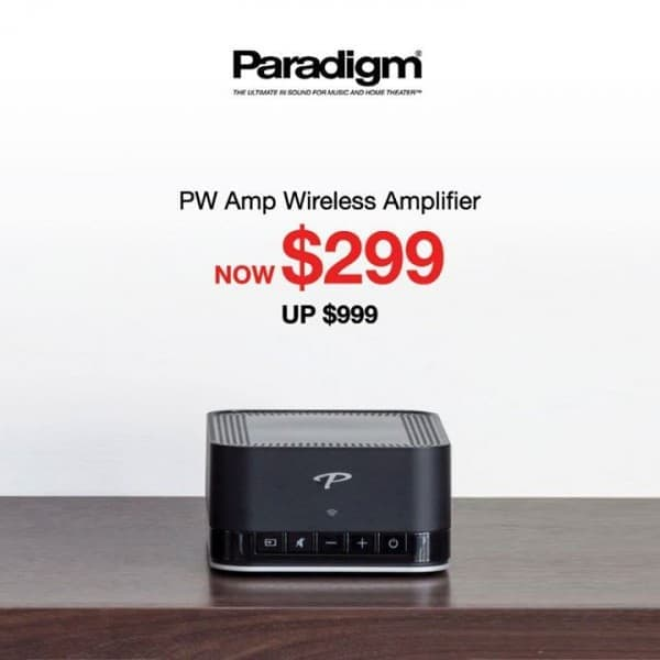 Paradigm PW Amp Wireless Amplifier selling at $299 ONLY (U.P. ...