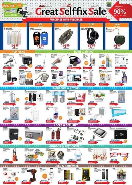 Selffix Sale | LoopMe Singapore