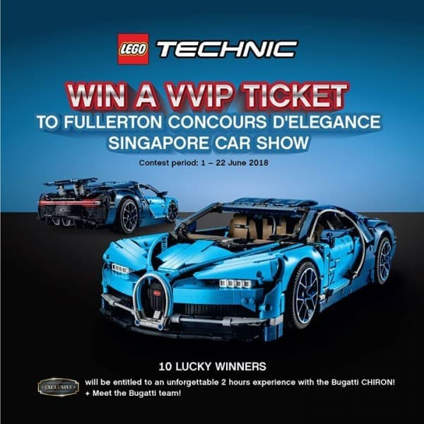 The Brick Shop Contest LoopMe Singapore - Fullerton car show 2018