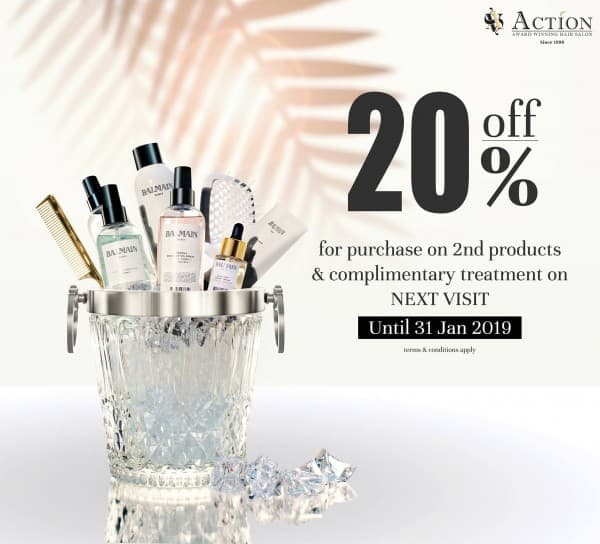 Action Hair Salon   Hair Spa by Action Offer  7b44f3f523