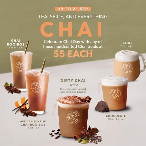 The Coffee Bean Tea Leaf Offer Loopme Singapore