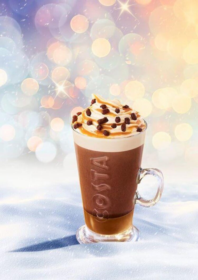 Image result for costa billionaires hot chocolate