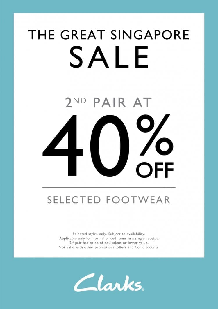 cb00d888d Clarks Great Singapore Sale