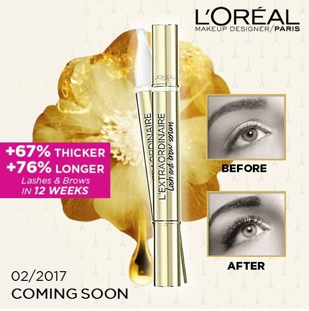 Loreal Lash Brow Serum Giveaway Loopme Singapore