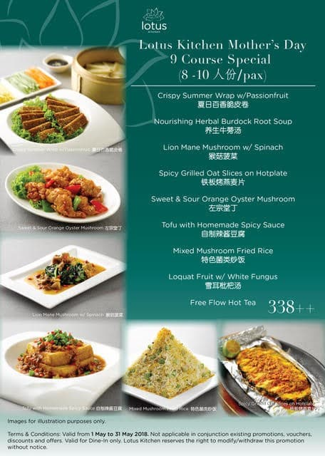 Lotus Kitchen Mother\'s Day Promotion | LoopMe Singapore
