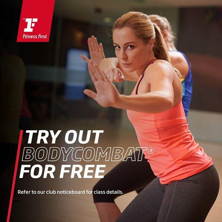 Fitness First Free Body Combat Classes