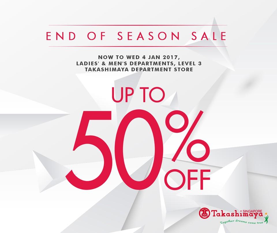 a417604d6f8a Takashimaya End Of Season Sale