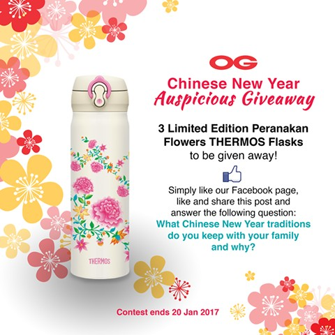 Chinese new year giveaways