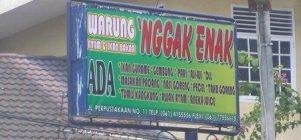 Jangan makan disini
