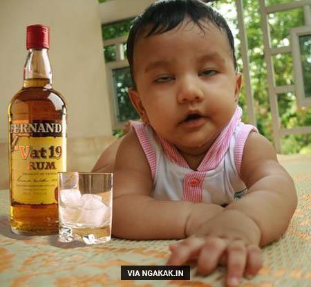 Bayi mabok