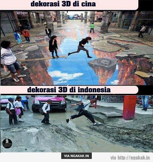 Beda Cina dengan Indonesia