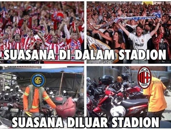 Fenomena final Liga Champions