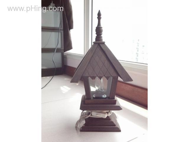 Thailand wood table lamp - pHing com Classifieds