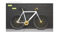 LOKI CYCLES - Fixed Gear Single Speed Track Bikes Fixie - Tux 56 cm