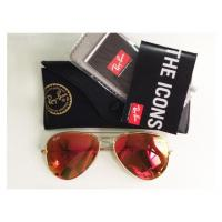 Brand new Ray-Ban RB3025 Aviator Crystal Orange Mirror