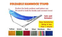 Foldable Hammock Stand ✶FREE DELIVERY✶