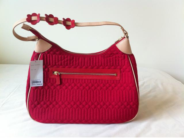 b052abca4711 Che Che New York Beautiful Red Handbag Brand New With Tags - pHing ...
