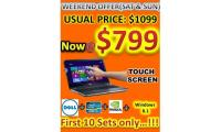 NOTEBOOK - DELL I5 -TOUCH SCREEN - $799.00