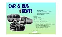 Car & Bus for Rent in Indonesia