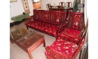 beautiful rosewood sofa set negotiable