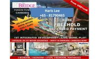 THE BRIDGE Cambodia By Oxley AEON Mall, NagaWorld Apartment, For Sale