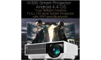 Android 4.4 projector W330 1280*800p HDMI Full HD 3D USB WIFI