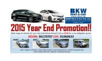 Year End Car Rental Promotion available!!