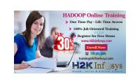 Get Upto 30% off on Hadoop Big Data Online Training Course