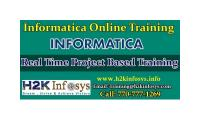 Informatica Online Training with Live Projects
