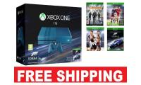 Xbox One Limited Edition Microsoft + 4 GAME