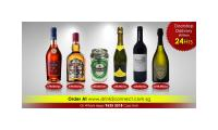 $49.80/pc Chivas Regal 12yrs, $78.80/pc Martell Vsop, $16.80/pc Moscato Wine