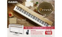 GSS Deal! Must Buy! Casio PX 160 Digital Piano at only $999