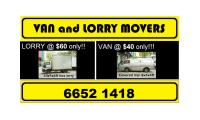 MOVERS - VAN AND LORRY FOR REMOVAL call 66521418 - JEAN