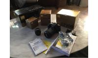 Nikon D7100 24.1 MP Digital SLR Camera - Black (Kit w/ AF-S DX 18-140mm 50mm 1.8