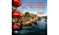 Holiday Travel Special: 5D4N Central Vietnam Winter Tour | Vacation Promotion Deal