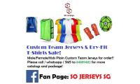 Custom Team Jerseys Hot March SALE!